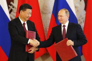 Mỹ 'đau đớn' thừa nhận càng gây sức ép, quan hệ Nga - Trung càng thân thiết