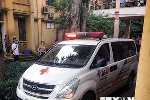 Vụ thanh chắn bêtông rơi ở trường học: 1 học sinh tử vong