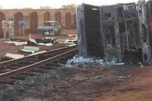 Xe bồn chở xăng phát nổ ở Niger, gần 90 người hôi của thương vong
