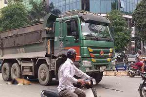 Cô gái 28 tuổi tử vong dưới gầm xe ben tại Hà Nội
