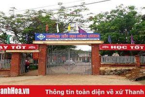 Trường Tiểu học Đồng Lương (Lang Chánh): Học sinh đã đi học bình thường