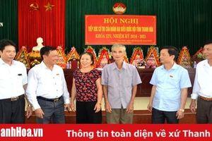 Đoàn ĐBQH Thanh Hóa tiếp xúc cử tri huyện Hậu Lộc