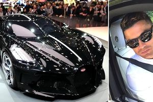 Ronaldo phủ nhận vung hàng chục triệu USD mua siêu xe Bugatti đắt nhất thế giới
