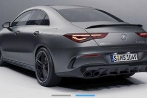 Mercedes-AMG CLA 45 2020 vô tình bị tiết lộ, có thể mạnh tới 420 mã lực