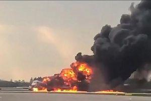 Máy bay rơi ở Nga, đã tăng lên 41 người thiệt mạng
