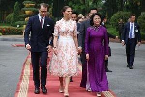 Phó Chủ tịch nước chủ trì Lễ đón Công chúa kế vị Thụy Điển