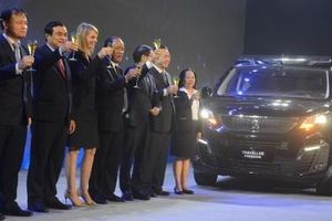 THACO ra mắt cặp Peugeot Traveller 'Xứng tầm đẳng cấp'