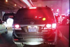 Bộ Công an công bố danh tính thượng sỹ lái xe biển xanh gây tai nạn rồi bỏ chạy ở Hà Nội