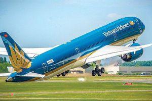 Giá trị vốn hóa của Vietnam Airlines tại HOSE ước đạt 57.000 tỷ đồng