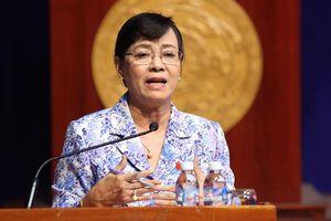 Bà Quyết Tâm: 'Chúng tôi không né tránh vấn đề Thủ Thiêm'