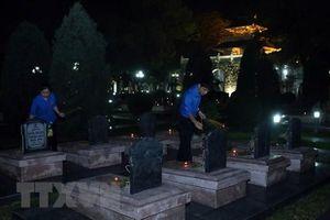 Tri ân các anh hùng, liệt sỹ hy sinh trong chiến dịch Điện Biên Phủ