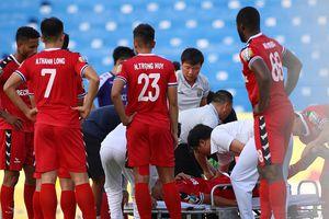 Hai chấn thương nghiêm trọng trong một vòng đấu V.League 2019