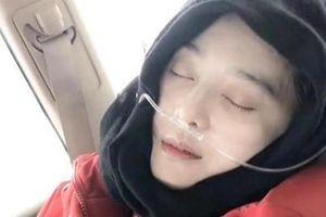 Phạm Băng Băng phải thở bình oxy trên đường đi từ thiện ở Tây Tạng