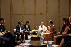 Phó Thủ tướng Phạm Bình Minh tiếp Công chúa kế vị Thụy Điển