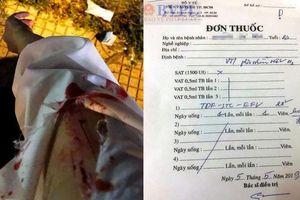 Diễn biến mới vụ cô gái trẻ bị người lạ rạch tay chảy máu phải điều trị phơi nhiễm HIV