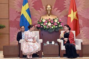 Lãnh đạo Chính phủ, Quốc hội tiếp Công chúa kế vị Thụy Điển
