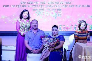Đám cưới cho người khuyết tật - Giấc mơ có thật