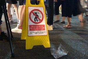 Thí điểm quay phim, chụp ảnh hành vi xả rác ở phố đi bộ Hồ Gươm để xử phạt