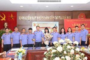 Ra mắt Trang thông tin điện tử tổng hợp của VKSND cấp cao tại Hà Nội