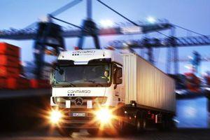 Đức chính thức sử dụng xe tải điện vận chuyển container