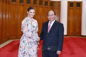 Thủ tướng Nguyễn Xuân Phúc tiếp Công chúa kế vị Thụy Điển