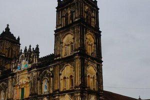 Chiêm ngưỡng nhà thờ Bùi Chu 134 năm tuổi trước giờ đại trùng tu ở Nam Định