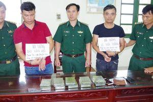 Hai đối tượng bị bắt cùng 10 bánh heroin tại khu du lịch bãi tắm Quất Lâm