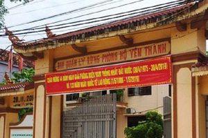 Nghệ An: Bắt nguyên Trưởng ban và 2 cán bộ BQLRPH Yên Thành