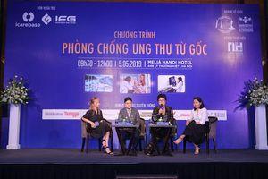 Cộng đồng doanh nhân và lãnh đạo nữ WLIN Global chung tay phòng chống ung thư từ gốc
