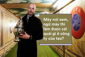 Ajax trở lại đỉnh cao nhờ 'kẻ bất tài trong mắt cha' và yêu thơ của Louis van Gaal mê mệt