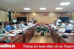 Phó Chủ tịch Thường trực UBND tỉnh Nguyễn Đức Quyền làm việc với đoàn công tác của Ngân hàng Thế giới