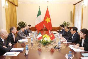 Tăng cường hợp tác kinh tế, thương mại Việt Nam - Italy