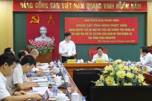 Thái Nguyên: Tăng cường ứng dụng công nghệ thông tin, đào tạo nguồn nhân lực có tay nghề cao