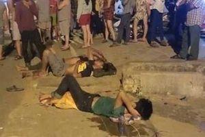 Kẹp ba tông phải chó thả rông, một thanh niên tử nạn
