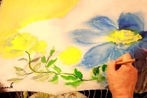 Bức tranh lụa độc đáo tặng công chúa Thụy Điển