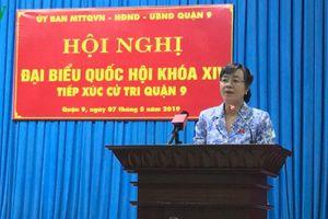 Cử tri TPHCM kiến nghị xử lý nghiêm sai phạm của ông Tất Thành Cang