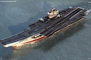 Nga sắp sở hữu tàu sân bay hạt nhân đầu tiên?