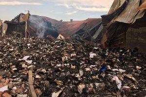 Thông tin về vụ cháy nhà kho lưu trữ tài liệu xe buýt