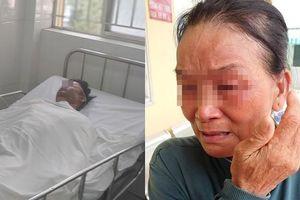 Người chồng bị vợ dùng xăng đốt giữa bãi đất trống ở TP.HCM đã tử vong, mẹ già khóc ngất bên thi thể con