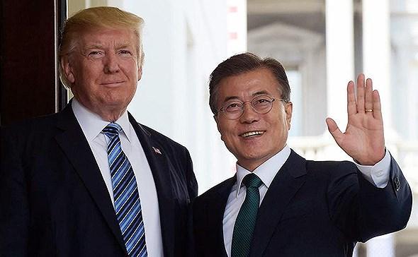 Tổng thống Donald Trump ủng hộ kế hoạch hỗ trợ nhân đạo cho Triều Tiên
