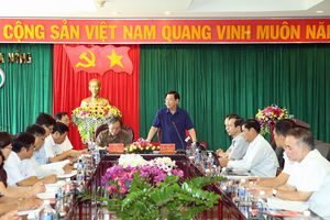 Kiểm tra công tác cán bộ tại tỉnh Đắk Nông