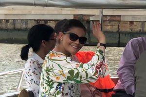 Công chúa Thụy Điển du ngoạn sông Sài Gòn
