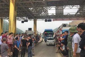 BOT Hòa Lạc - Hòa Bình xả trạm 2 lần sau 4 ngày thu phí