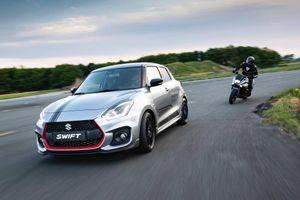 Hiếm hơn cả siêu xe, Suzuki Swift Sport Katana chỉ sản xuất 30 chiếc