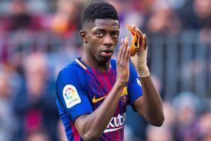 Ousmane Dembele bị CĐV Barca xỉ vả dù không ra sân