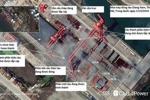 Lộ bằng chứng Trung Quốc đang đóng tàu sân bay thứ 3
