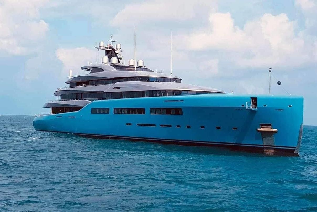 Siêu du thuyền 150 triệu USD ghé thăm đảo Phú Quốc