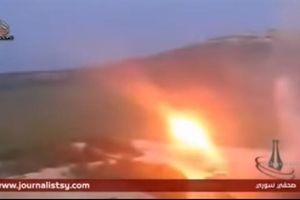 SAA dùng vũ khí khủng san phẳng trận địa của phiến quân