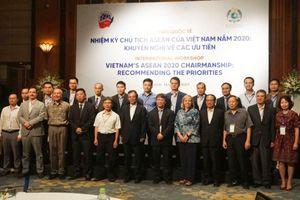 Hội thảo Nhiệm kỳ Chủ tịch ASEAN của Việt Nam năm 2020