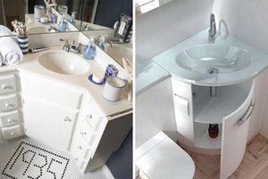 12 ý tưởng thiết kế thông minh trong phòng tắm nhỏ